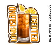 vector illustration of alcohol... | Shutterstock .eps vector #666522928