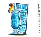 vector illustration of alcohol... | Shutterstock .eps vector #666522973
