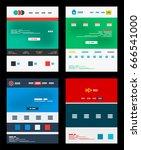 web site schemes templates set ...