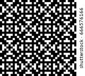 vector seamless pattern.... | Shutterstock .eps vector #666576166