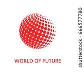 earth symbol   logo design | Shutterstock . vector #666577780