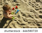 sand  beach. game in the sand.... | Shutterstock . vector #666580720