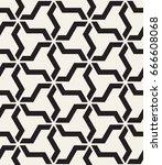 vector seamless pattern. modern ... | Shutterstock .eps vector #666608068