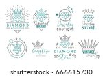 Jewelry Logo Set Or Label...