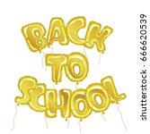 new academic year poster. hand... | Shutterstock .eps vector #666620539