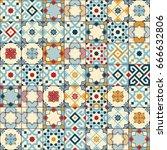 gorgeous seamless pattern white ...   Shutterstock .eps vector #666632806