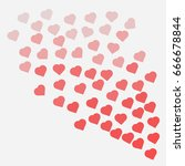 heart  like animation.... | Shutterstock .eps vector #666678844