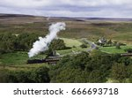 Goathland  Yorkshire  Uk. A...