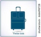 vector illustration of a travel ... | Shutterstock .eps vector #666698728
