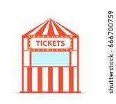 Ticket Box Office. Vector...