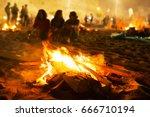 Saint John Bonfires In Coruna...