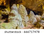 Small photo of Landscape of Mae Ausu cave of check in Mae Moei nation park,tak,thailand.