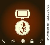 ussr order simple vector icon....