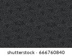 dark gray texture of small... | Shutterstock .eps vector #666760840