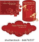 collection of beautiful labels...   Shutterstock .eps vector #66676537