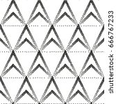 geometric vector. seamless... | Shutterstock .eps vector #666767233