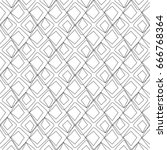 seamless geometric pattern.... | Shutterstock .eps vector #666768364