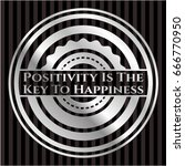 positivity is the key to... | Shutterstock .eps vector #666770950
