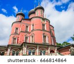 donskoy monastery  moscow russia | Shutterstock . vector #666814864