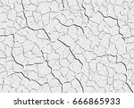 bright decorative plaster... | Shutterstock .eps vector #666865933