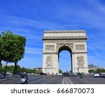 paris  france   june 5  2017 ... | Shutterstock . vector #666870073