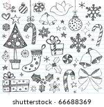 Hand Drawn Christmas Sketchy...