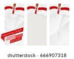 design of banners  flyers ... | Shutterstock .eps vector #666907318