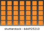 arrows icon set vector...