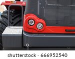 agricultural machinery lights...   Shutterstock . vector #666952540