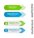 special website buttons... | Shutterstock .eps vector #666952594