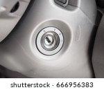 car keyhole | Shutterstock . vector #666956383
