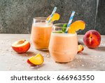 healthy eating. breakfast ... | Shutterstock . vector #666963550