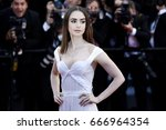 cannes  france   may 19  lily... | Shutterstock . vector #666964354
