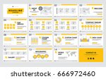 templates  presentation for... | Shutterstock .eps vector #666972460