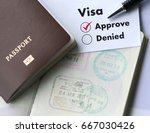 Visa And Passport To  Approved...