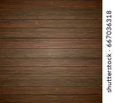 wood planks background. | Shutterstock .eps vector #667036318