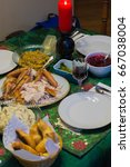 Small photo of christmas feast