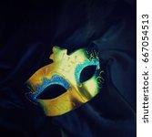 carnival mask | Shutterstock . vector #667054513