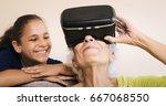 family relationship between... | Shutterstock . vector #667068550