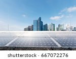 Solar Panel With Modern...