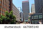 streets of johannesburg.... | Shutterstock . vector #667085140