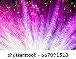 abstract blurred purple light... | Shutterstock . vector #667091518