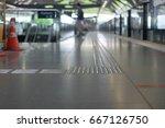 blind line way | Shutterstock . vector #667126750