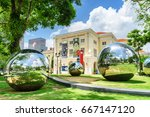 singapore   february 17  2017 ... | Shutterstock . vector #667147120