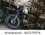 Old Motorcycle  Which Needs To...
