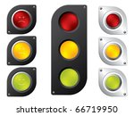 Various Traffic Light Designs