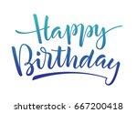 blue gradient vector lettering '... | Shutterstock .eps vector #667200418
