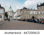 copenhagen  denmark   august 12 ... | Shutterstock . vector #667200613