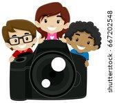 vector illustration of children ...   Shutterstock .eps vector #667202548