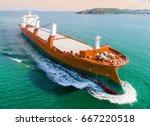 general heavy project cargo... | Shutterstock . vector #667220518